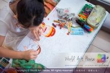 Malaysia Kota Damansara Petaling Jaya Kuala Lumpur Selangor Chinese New Year Charity Coloring Contest World Art House 世界艺术画室 and 1 Utama Shopping JinYeYe Effye Media C076