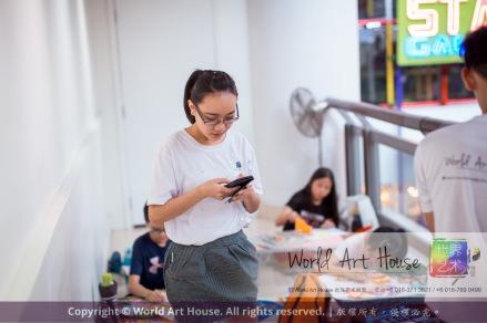Malaysia Kota Damansara Petaling Jaya Kuala Lumpur Selangor Chinese New Year Charity Coloring Contest World Art House 世界艺术画室 and 1 Utama Shopping JinYeYe Effye Media C082