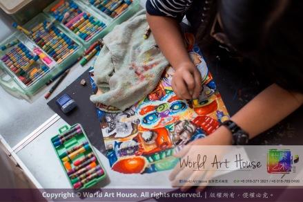 Malaysia Kota Damansara Petaling Jaya Kuala Lumpur Selangor Chinese New Year Charity Coloring Contest World Art House 世界艺术画室 and 1 Utama Shopping JinYeYe Effye Media C084