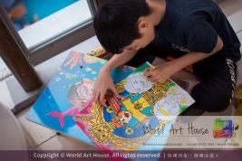 Malaysia Kota Damansara Petaling Jaya Kuala Lumpur Selangor Chinese New Year Charity Coloring Contest World Art House 世界艺术画室 and 1 Utama Shopping JinYeYe Effye Media C091