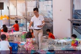 Malaysia Kota Damansara Petaling Jaya Kuala Lumpur Selangor Chinese New Year Charity Coloring Contest World Art House 世界艺术画室 and 1 Utama Shopping JinYeYe Effye Media A004