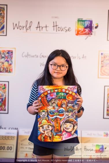 Malaysia Kota Damansara Petaling Jaya Kuala Lumpur Selangor Chinese New Year Charity Coloring Contest World Art House 世界艺术画室 and 1 Utama Shopping JinYeYe Effye Media D002