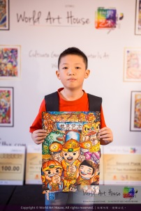 Malaysia Kota Damansara Petaling Jaya Kuala Lumpur Selangor Chinese New Year Charity Coloring Contest World Art House 世界艺术画室 and 1 Utama Shopping JinYeYe Effye Media D005
