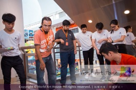 Malaysia Kota Damansara Petaling Jaya Kuala Lumpur Selangor Chinese New Year Charity Coloring Contest World Art House 世界艺术画室 and 1 Utama Shopping JinYeYe Effye Media D007