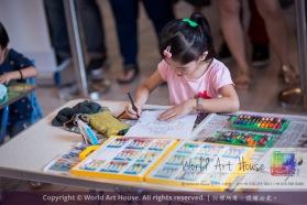 Malaysia Kota Damansara Petaling Jaya Kuala Lumpur Selangor Chinese New Year Charity Coloring Contest World Art House 世界艺术画室 and 1 Utama Shopping JinYeYe Effye Media A032