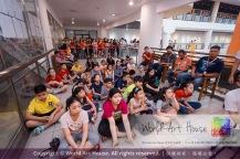 Malaysia Kota Damansara Petaling Jaya Kuala Lumpur Selangor Chinese New Year Charity Coloring Contest World Art House 世界艺术画室 and 1 Utama Shopping JinYeYe Effye Media D015
