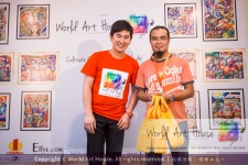 Malaysia Kota Damansara Petaling Jaya Kuala Lumpur Selangor Chinese New Year Charity Coloring Contest World Art House 世界艺术画室 and 1 Utama Shopping JinYeYe Effye Media D021
