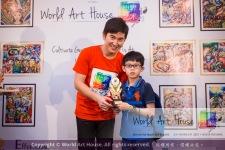 Malaysia Kota Damansara Petaling Jaya Kuala Lumpur Selangor Chinese New Year Charity Coloring Contest World Art House 世界艺术画室 and 1 Utama Shopping JinYeYe Effye Media D030