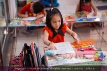 Malaysia Kota Damansara Petaling Jaya Kuala Lumpur Selangor Chinese New Year Charity Coloring Contest World Art House 世界艺术画室 and 1 Utama Shopping JinYeYe Effye Media A034