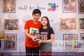 Malaysia Kota Damansara Petaling Jaya Kuala Lumpur Selangor Chinese New Year Charity Coloring Contest World Art House 世界艺术画室 and 1 Utama Shopping JinYeYe Effye Media D032