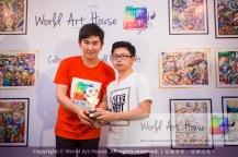 Malaysia Kota Damansara Petaling Jaya Kuala Lumpur Selangor Chinese New Year Charity Coloring Contest World Art House 世界艺术画室 and 1 Utama Shopping JinYeYe Effye Media D035