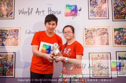 Malaysia Kota Damansara Petaling Jaya Kuala Lumpur Selangor Chinese New Year Charity Coloring Contest World Art House 世界艺术画室 and 1 Utama Shopping JinYeYe Effye Media D037