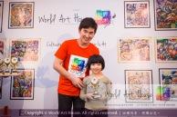 Malaysia Kota Damansara Petaling Jaya Kuala Lumpur Selangor Chinese New Year Charity Coloring Contest World Art House 世界艺术画室 and 1 Utama Shopping JinYeYe Effye Media D040