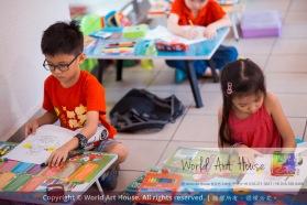 Malaysia Kota Damansara Petaling Jaya Kuala Lumpur Selangor Chinese New Year Charity Coloring Contest World Art House 世界艺术画室 and 1 Utama Shopping JinYeYe Effye Media A035