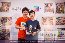 Malaysia Kota Damansara Petaling Jaya Kuala Lumpur Selangor Chinese New Year Charity Coloring Contest World Art House 世界艺术画室 and 1 Utama Shopping JinYeYe Effye Media D041