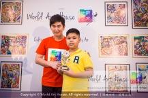 Malaysia Kota Damansara Petaling Jaya Kuala Lumpur Selangor Chinese New Year Charity Coloring Contest World Art House 世界艺术画室 and 1 Utama Shopping JinYeYe Effye Media D043