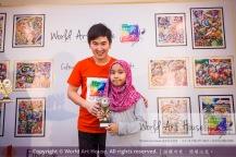 Malaysia Kota Damansara Petaling Jaya Kuala Lumpur Selangor Chinese New Year Charity Coloring Contest World Art House 世界艺术画室 and 1 Utama Shopping JinYeYe Effye Media D047