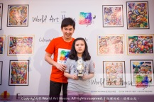 Malaysia Kota Damansara Petaling Jaya Kuala Lumpur Selangor Chinese New Year Charity Coloring Contest World Art House 世界艺术画室 and 1 Utama Shopping JinYeYe Effye Media D050