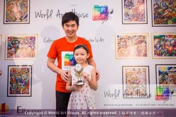 Malaysia Kota Damansara Petaling Jaya Kuala Lumpur Selangor Chinese New Year Charity Coloring Contest World Art House 世界艺术画室 and 1 Utama Shopping JinYeYe Effye Media D051
