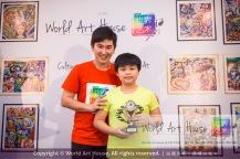 Malaysia Kota Damansara Petaling Jaya Kuala Lumpur Selangor Chinese New Year Charity Coloring Contest World Art House 世界艺术画室 and 1 Utama Shopping JinYeYe Effye Media D052