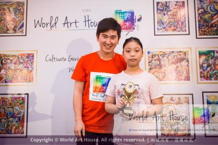 Malaysia Kota Damansara Petaling Jaya Kuala Lumpur Selangor Chinese New Year Charity Coloring Contest World Art House 世界艺术画室 and 1 Utama Shopping JinYeYe Effye Media D053