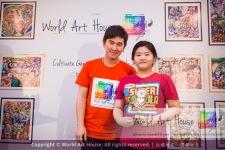 Malaysia Kota Damansara Petaling Jaya Kuala Lumpur Selangor Chinese New Year Charity Coloring Contest World Art House 世界艺术画室 and 1 Utama Shopping JinYeYe Effye Media D054