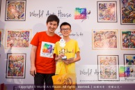 Malaysia Kota Damansara Petaling Jaya Kuala Lumpur Selangor Chinese New Year Charity Coloring Contest World Art House 世界艺术画室 and 1 Utama Shopping JinYeYe Effye Media D058