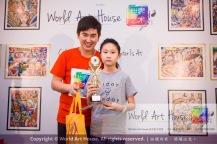 Malaysia Kota Damansara Petaling Jaya Kuala Lumpur Selangor Chinese New Year Charity Coloring Contest World Art House 世界艺术画室 and 1 Utama Shopping JinYeYe Effye Media D060