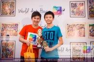 Malaysia Kota Damansara Petaling Jaya Kuala Lumpur Selangor Chinese New Year Charity Coloring Contest World Art House 世界艺术画室 and 1 Utama Shopping JinYeYe Effye Media D061