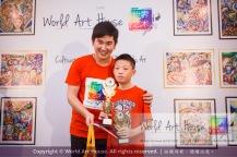 Malaysia Kota Damansara Petaling Jaya Kuala Lumpur Selangor Chinese New Year Charity Coloring Contest World Art House 世界艺术画室 and 1 Utama Shopping JinYeYe Effye Media D062