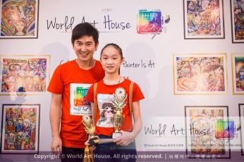 Malaysia Kota Damansara Petaling Jaya Kuala Lumpur Selangor Chinese New Year Charity Coloring Contest World Art House 世界艺术画室 and 1 Utama Shopping JinYeYe Effye Media D064