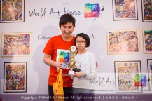 Malaysia Kota Damansara Petaling Jaya Kuala Lumpur Selangor Chinese New Year Charity Coloring Contest World Art House 世界艺术画室 and 1 Utama Shopping JinYeYe Effye Media D065