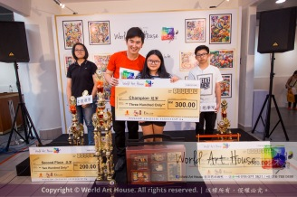 Malaysia Kota Damansara Petaling Jaya Kuala Lumpur Selangor Chinese New Year Charity Coloring Contest World Art House 世界艺术画室 and 1 Utama Shopping JinYeYe Effye Media D073