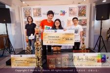 Malaysia Kota Damansara Petaling Jaya Kuala Lumpur Selangor Chinese New Year Charity Coloring Contest World Art House 世界艺术画室 and 1 Utama Shopping JinYeYe Effye Media D074