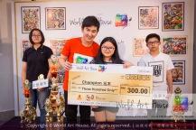 Malaysia Kota Damansara Petaling Jaya Kuala Lumpur Selangor Chinese New Year Charity Coloring Contest World Art House 世界艺术画室 and 1 Utama Shopping JinYeYe Effye Media D075