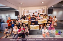 Malaysia Kota Damansara Petaling Jaya Kuala Lumpur Selangor Chinese New Year Charity Coloring Contest World Art House 世界艺术画室 and 1 Utama Shopping JinYeYe Effye Media D078