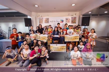 Malaysia Kota Damansara Petaling Jaya Kuala Lumpur Selangor Chinese New Year Charity Coloring Contest World Art House 世界艺术画室 and 1 Utama Shopping JinYeYe Effye Media D080