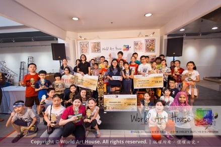 Malaysia Kota Damansara Petaling Jaya Kuala Lumpur Selangor Chinese New Year Charity Coloring Contest World Art House 世界艺术画室 and 1 Utama Shopping JinYeYe Effye Media D081