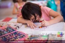 Malaysia Kota Damansara Petaling Jaya Kuala Lumpur Selangor Chinese New Year Charity Coloring Contest World Art House 世界艺术画室 and 1 Utama Shopping JinYeYe Effye Media A040