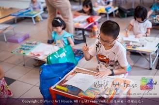 Malaysia Kota Damansara Petaling Jaya Kuala Lumpur Selangor Chinese New Year Charity Coloring Contest World Art House 世界艺术画室 and 1 Utama Shopping JinYeYe Effye Media A005
