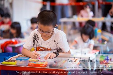 Malaysia Kota Damansara Petaling Jaya Kuala Lumpur Selangor Chinese New Year Charity Coloring Contest World Art House 世界艺术画室 and 1 Utama Shopping JinYeYe Effye Media A042