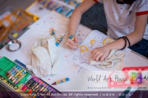 Malaysia Kota Damansara Petaling Jaya Kuala Lumpur Selangor Chinese New Year Charity Coloring Contest World Art House 世界艺术画室 and 1 Utama Shopping JinYeYe Effye Media A044