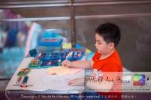Malaysia Kota Damansara Petaling Jaya Kuala Lumpur Selangor Chinese New Year Charity Coloring Contest World Art House 世界艺术画室 and 1 Utama Shopping JinYeYe Effye Media A045