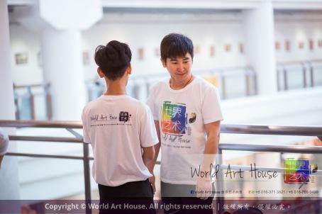 Malaysia Kota Damansara Petaling Jaya Kuala Lumpur Selangor Chinese New Year Charity Coloring Contest World Art House 世界艺术画室 and 1 Utama Shopping JinYeYe Effye Media A047