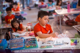 Malaysia Kota Damansara Petaling Jaya Kuala Lumpur Selangor Chinese New Year Charity Coloring Contest World Art House 世界艺术画室 and 1 Utama Shopping JinYeYe Effye Media A050