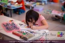 Malaysia Kota Damansara Petaling Jaya Kuala Lumpur Selangor Chinese New Year Charity Coloring Contest World Art House 世界艺术画室 and 1 Utama Shopping JinYeYe Effye Media A051