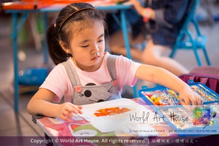 Malaysia Kota Damansara Petaling Jaya Kuala Lumpur Selangor Chinese New Year Charity Coloring Contest World Art House 世界艺术画室 and 1 Utama Shopping JinYeYe Effye Media A054