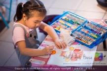 Malaysia Kota Damansara Petaling Jaya Kuala Lumpur Selangor Chinese New Year Charity Coloring Contest World Art House 世界艺术画室 and 1 Utama Shopping JinYeYe Effye Media A058