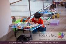 Malaysia Kota Damansara Petaling Jaya Kuala Lumpur Selangor Chinese New Year Charity Coloring Contest World Art House 世界艺术画室 and 1 Utama Shopping JinYeYe Effye Media A059