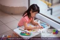 Malaysia Kota Damansara Petaling Jaya Kuala Lumpur Selangor Chinese New Year Charity Coloring Contest World Art House 世界艺术画室 and 1 Utama Shopping JinYeYe Effye Media A060